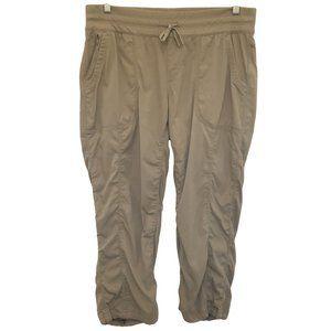 THE NORTH FACE Tan Athletic Capri Pants L